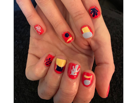 On-Brand Nail Art- Creative Wardrobe Pop-up
