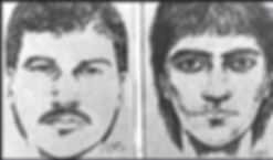 Composite sketches of suspects.