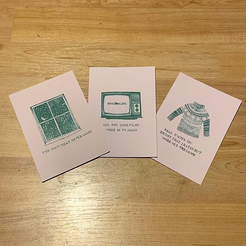 Xmas Card Set