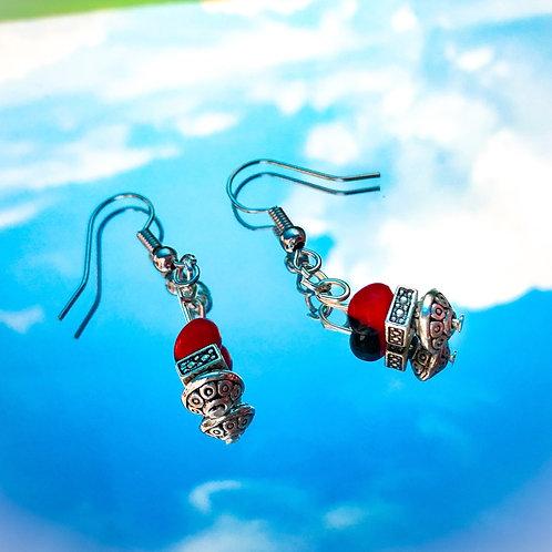 Huayruro Earrings