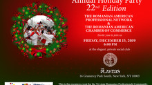 Save the date - Romanian Community  Holiday Party!