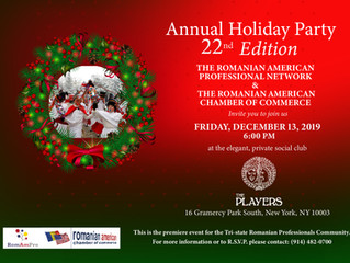 You're Invited: Romanian Community  Holiday Party!