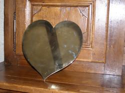 coeur en laiton