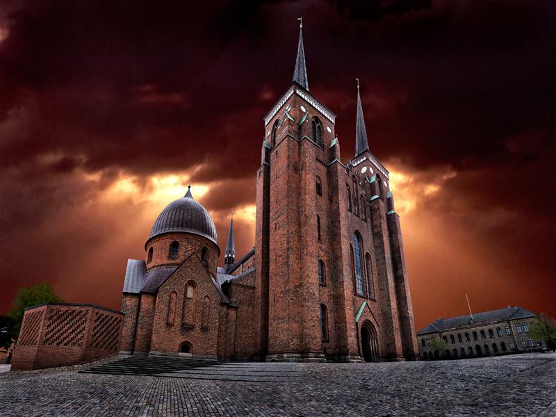 1801. Roskilde Domkirke
