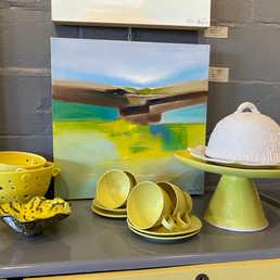 Local artists, sculptors and potters