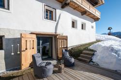 Sauna terrace