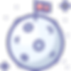 iconfinder_003_046_planet_moon_flag_spac
