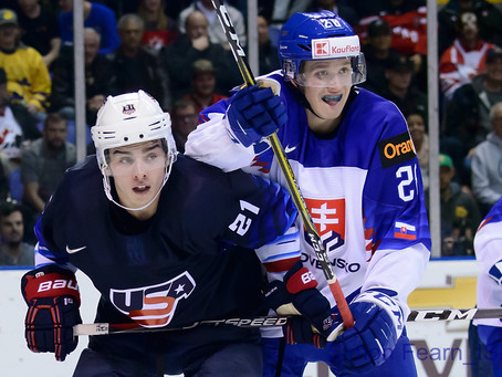 Team USA Fights Back In The Third Period To Defeat Slovakia In The World Junior Hockey Opener