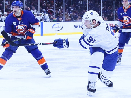Mike Wilson's Ultimate Game Report for the New York Islanders April 1st #UltimateFanRoadTrip
