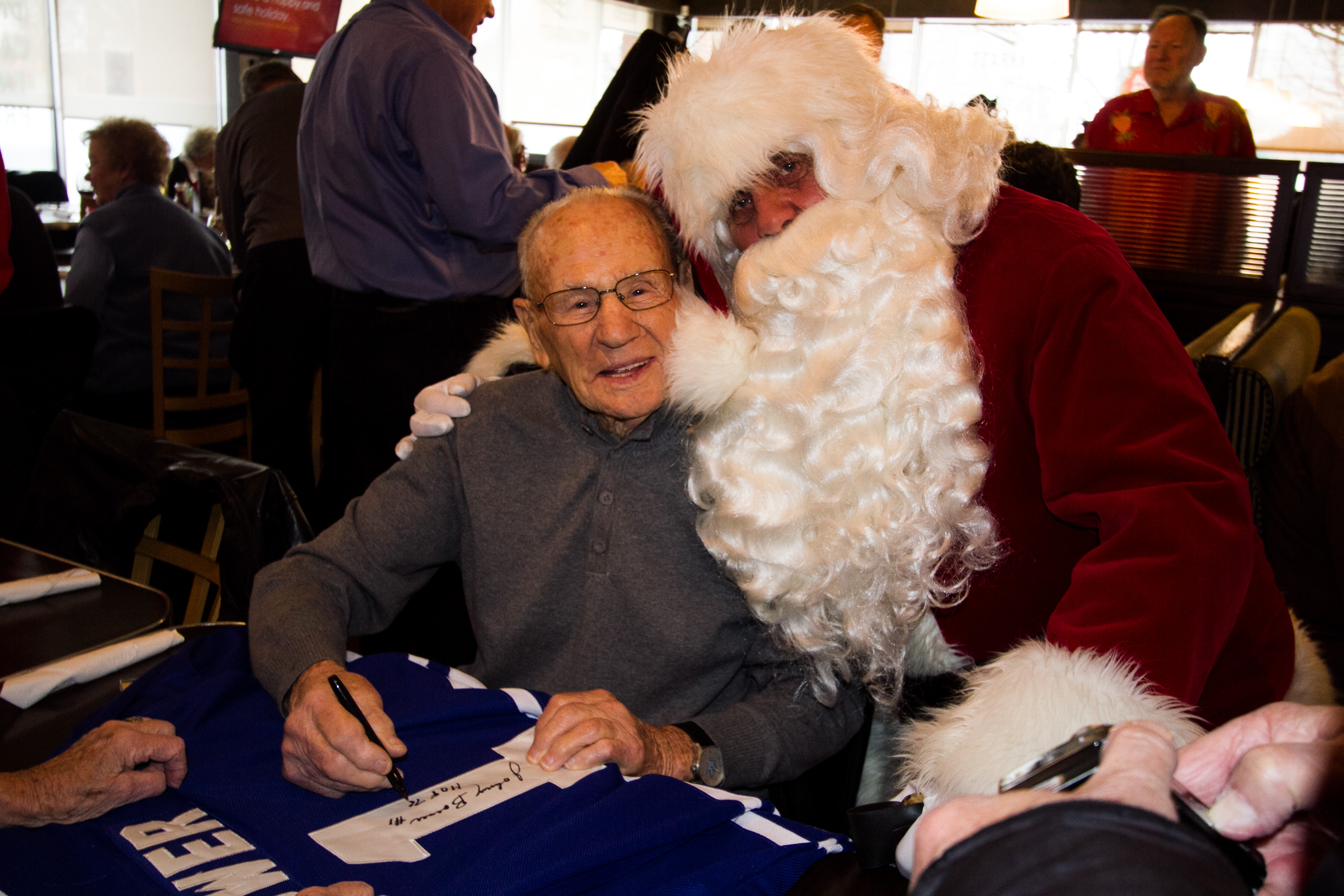NHL Oldtimers Christmas Party
