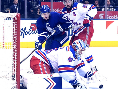 Mike Wilson's Ultimate Game Report for the New York Rangers March 23rd #UltimateFanRoadTrip