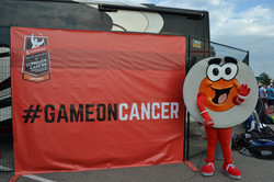 #GAMEONCANCER