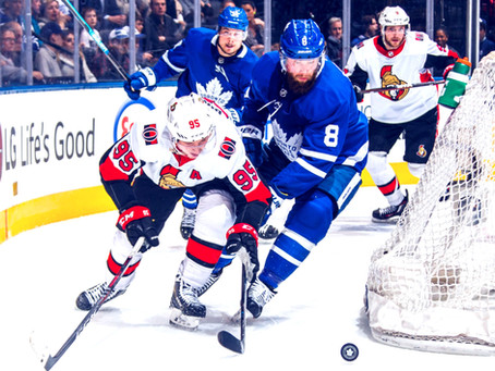 Mike Wilson's Ultimate Game Report for the Ottawa Senators March 30th #UltimateFanRoadTrip