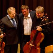 Shlomo with Berezovsky and Yablonsky kop