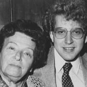 With his teacher Ilona Feher