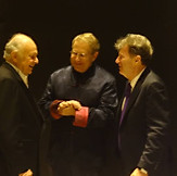 with Lorin Maazel and Yoel Levi Rome Jan