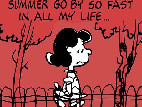 """Summer should be getting a Speeding Ticket!""- Weekly Market Update- August 29, 2020"