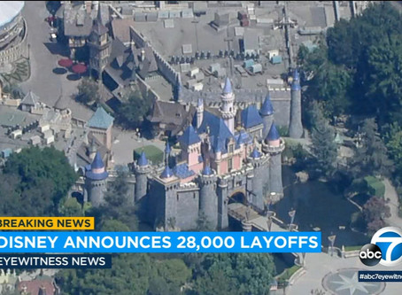 Disney Lays Of 28,000 After Months Of Closure -              Weekly Market Update Oct 2, 2020