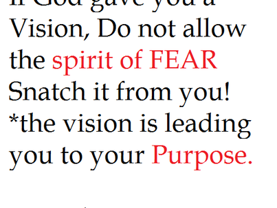 Purpose without Fear