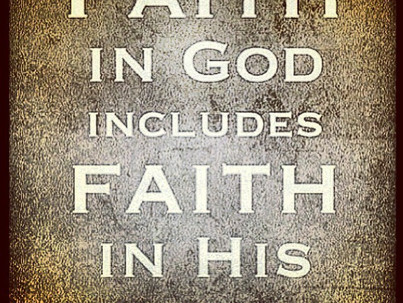 Having Faith In God, Will Make the Impossible, Possible!