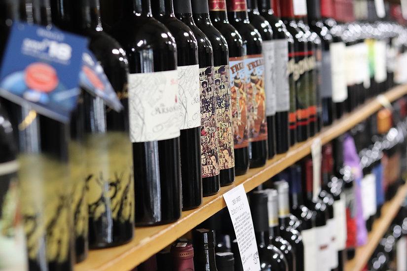 Franks Wine Wall 1