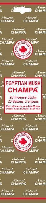 Encens Natural Champa Egyptian