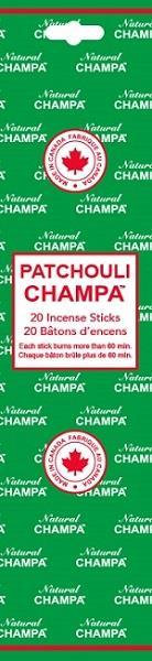 Encens Natural Champa Patchouli
