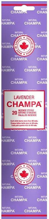 Encens Natural Champa Lavender