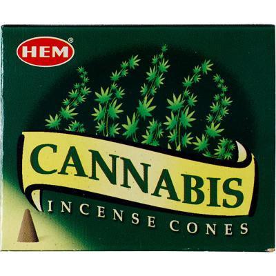 Encens HEM Cannabis cône