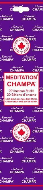 Encens Natural Champa Meditation