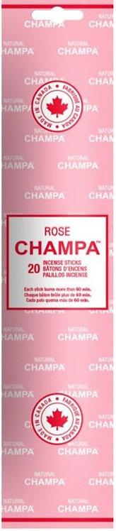 Encens Natural Champa Rose