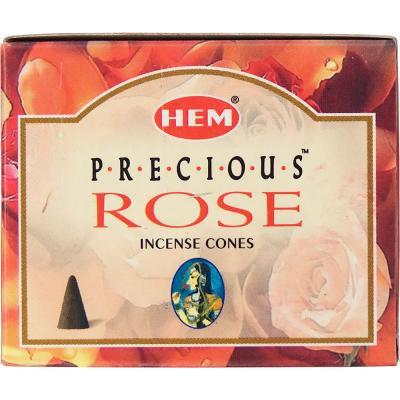 Encens HEM Rose cône