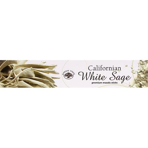 Encens White Sage Green Tree