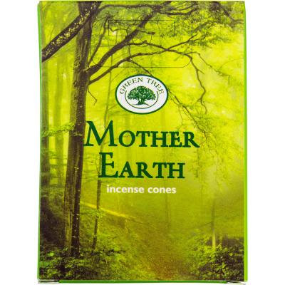 Encens Green Tree Mother Earth cône