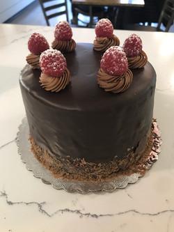 Chocolate Raspberry Ganache