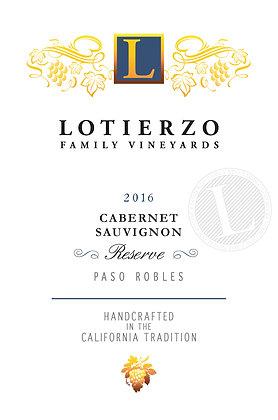 2016 Reserve Cabernet Sauvignon