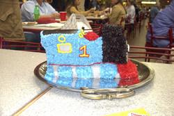 Thomas the Train 3-D Cake