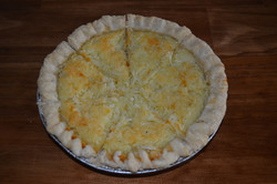 Cocount Custard Pie