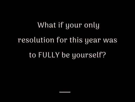 The Truth About Resolutions
