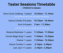 (kids) Taster Sessions Timetable.png
