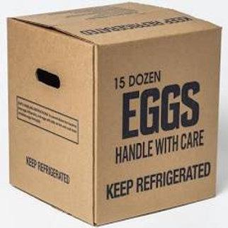 Eggs ( 15 Dozen Large Grade A)