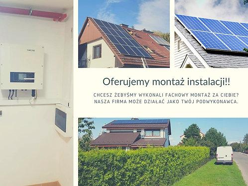 Montaż instalacji 9 kW