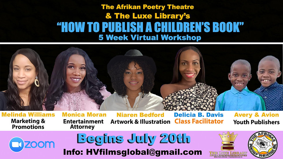 How To Publish A Childrens Book (Single Sessions )