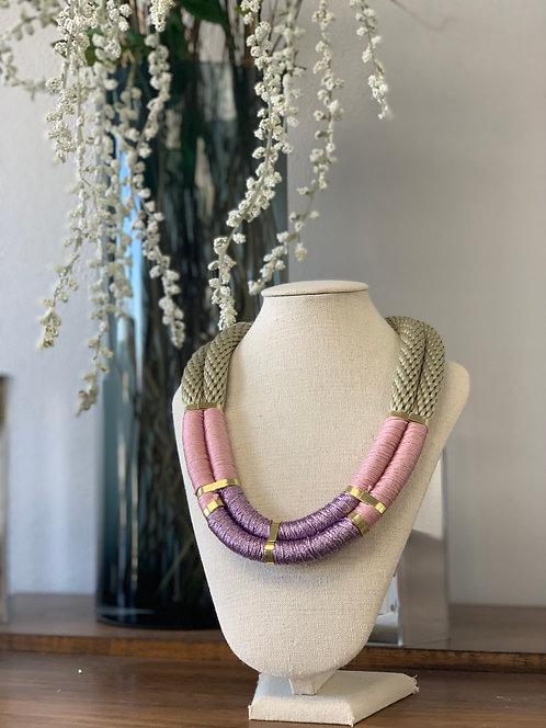 Willa & Delores 2 Strand Pink/Purple