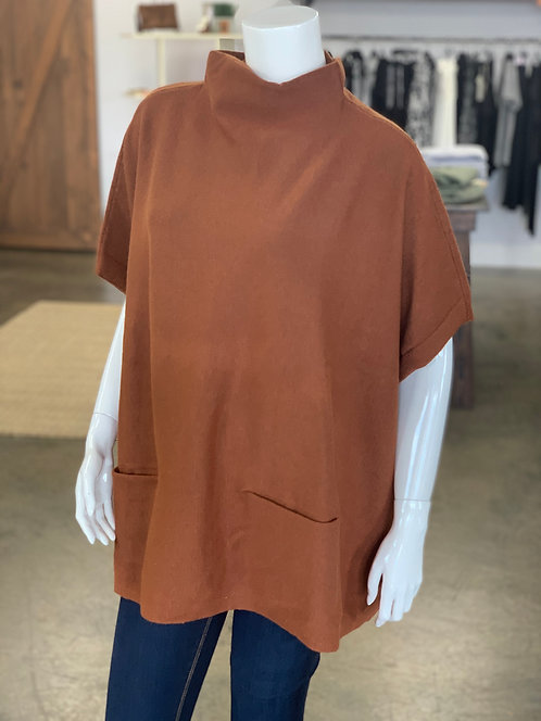 RD Style Poncho Style Sweater L