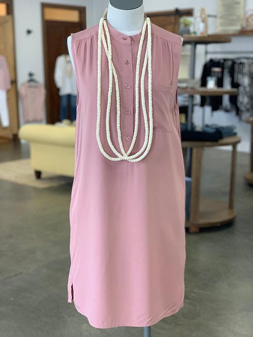 KLd Shirt Dress Pink