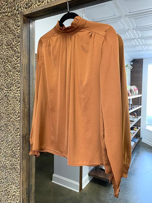 The Korner Camel Top (Silk)