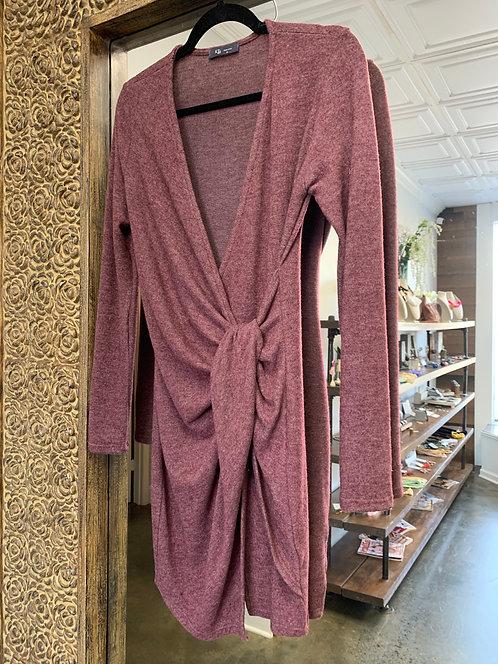 KLd Brushed Jersey Dress