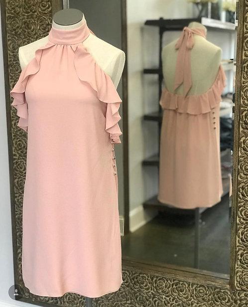 Waverly Grey Dress Rose