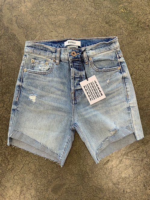 Pistola Devin High Rise MomCuff Shorts